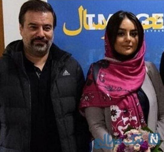 پیمان قاسم خانی با میترا ابراهیمی ازدواج کرد + عکس