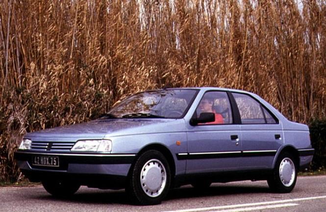 پژو 405 مدل 1987