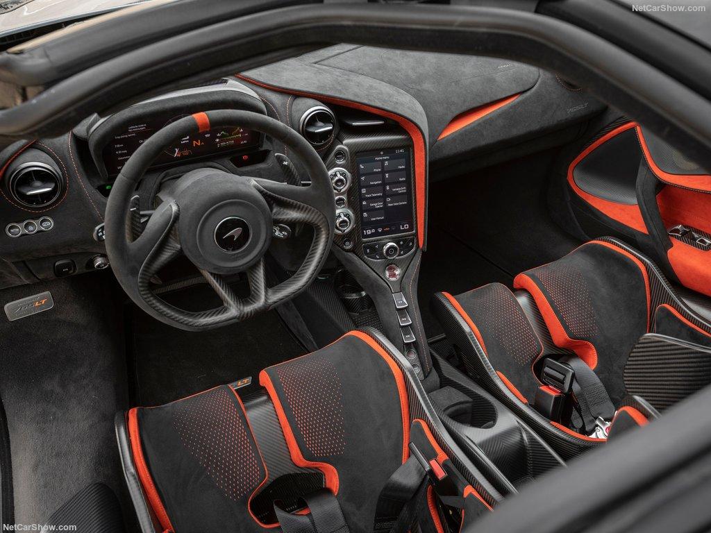 مک لارن 765LT مدل 2021