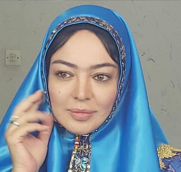 رزیتا غفاری با تیپ قجری