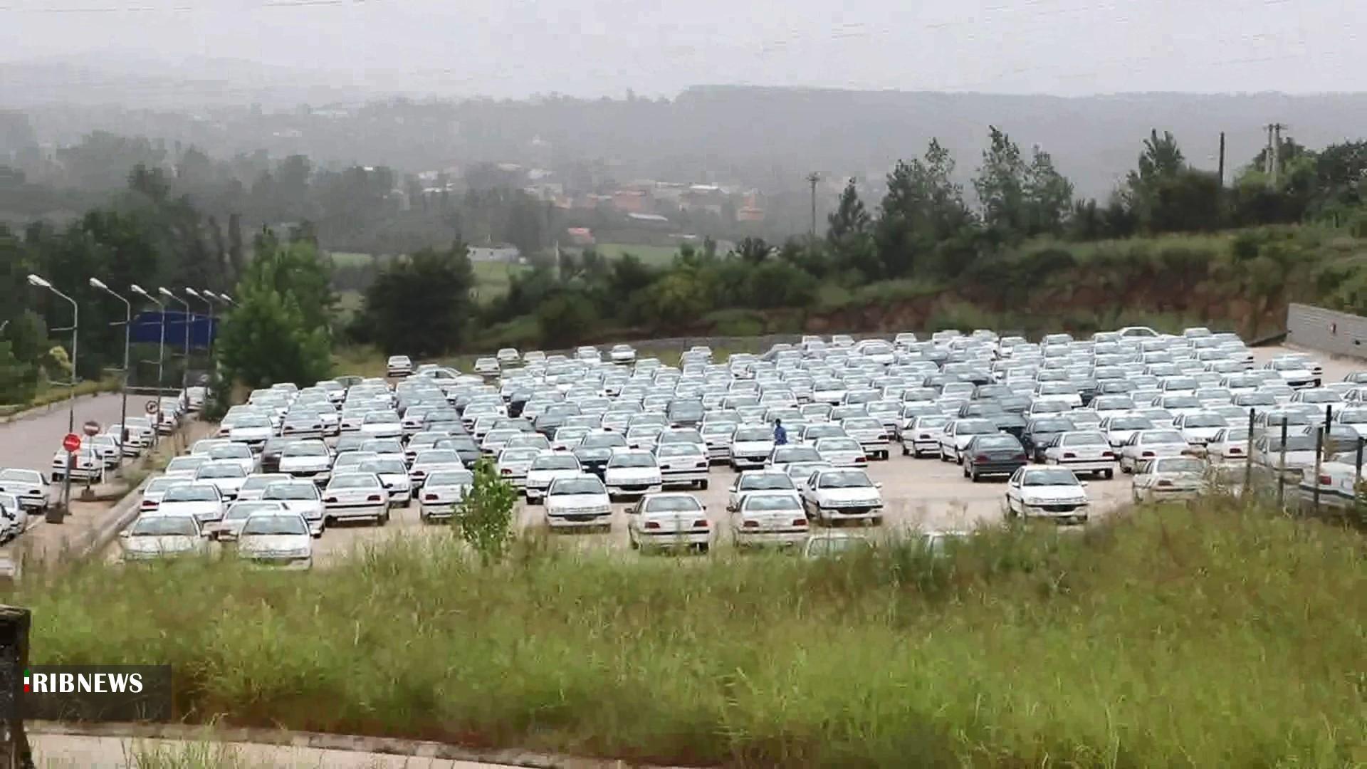 دپوی خودرو در ایران خودرو مازندران