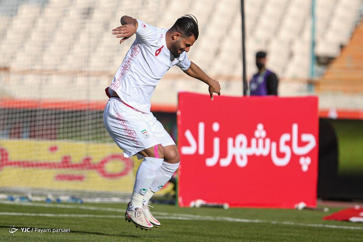 کنعانی زادگان در تیم ملی