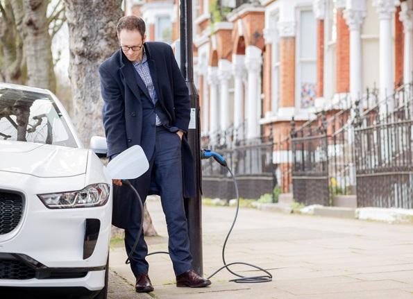 شارژ خودرو برقی
