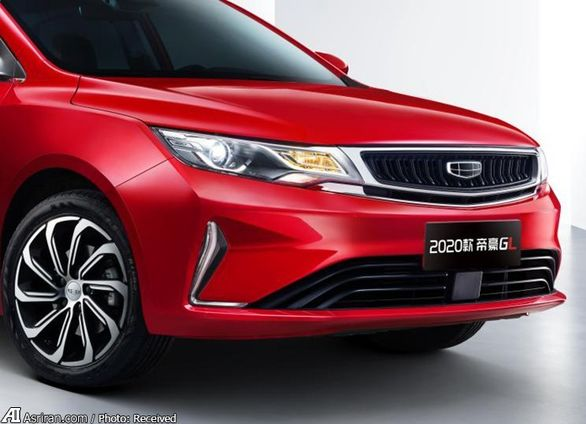 خودروی جدید جیلی با مدل 2020 رونمایی شد