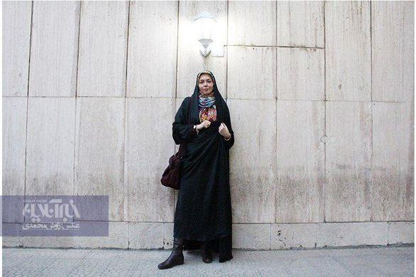اولین تصویر از محل دفن مرحومه آزاده نامداری + عکس