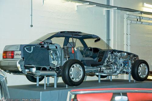 برش طولی از ال اس400 استاندارد