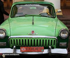نمایشگاه خودروهای کلاسیک در پایتخت اوکراین