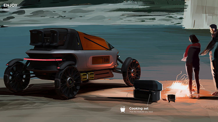 Land Rover Back Packer Concept / خودروی مفهومی لندرور