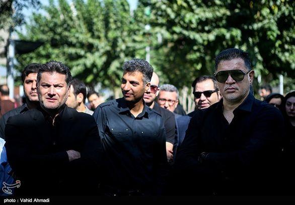 برخورد گرم عادل فردوسی پور با شهردار اسبق تهران (عکس)