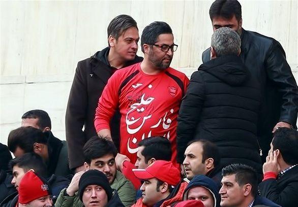 آشتی دو پرسپولیسی مشهور در حاشیه هیات عزاداری (عکس)