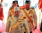 ملکه زیبایی روسیه در حریم سلطان مالزی + عکس