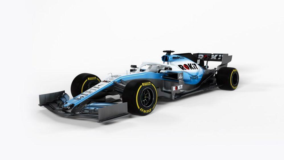 فرمول یک/ خودروی فصل 2019 ویلیامز رونمایی شد