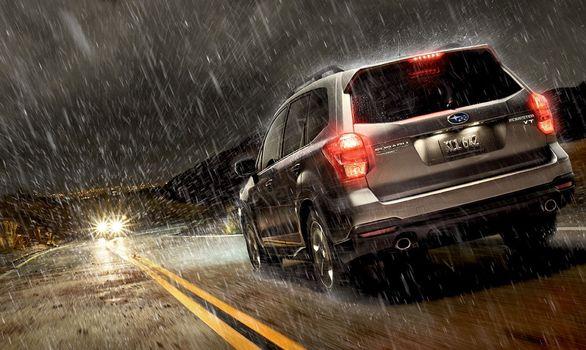 تکنیک های ساده رانندگی در باران