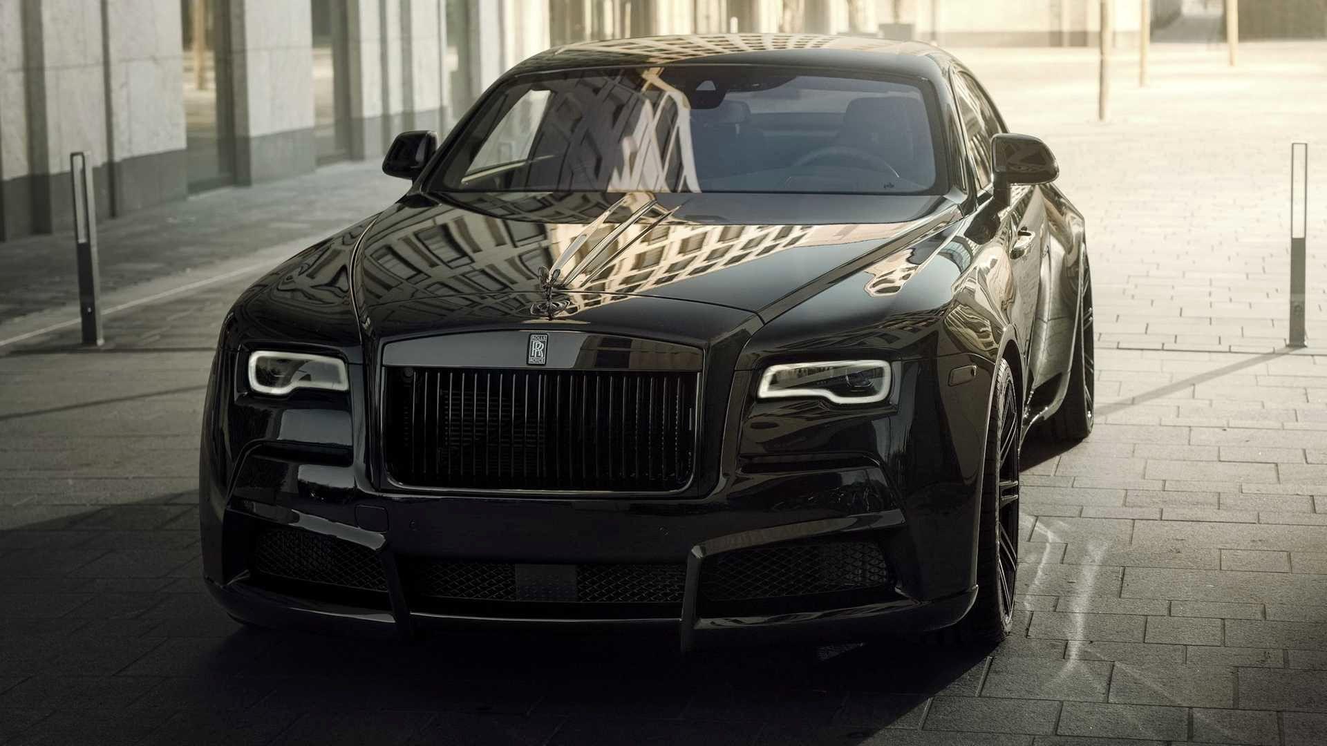 تیونینگ ظاهری رولزرویس Black Badge Wraith با کیت بدنه پهن پیکر و ۷۰۰ اسب بخار + تصاویر