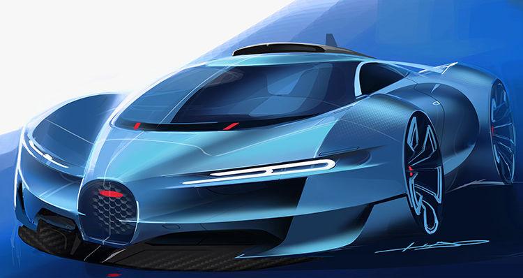 Bugatti sketch