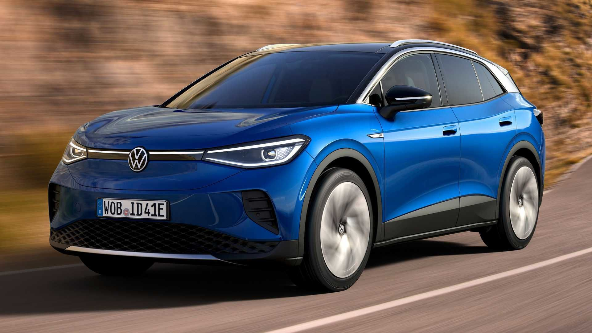 2021 Volkswagen ID.4 Prototype First Drive Review: فقط ساده