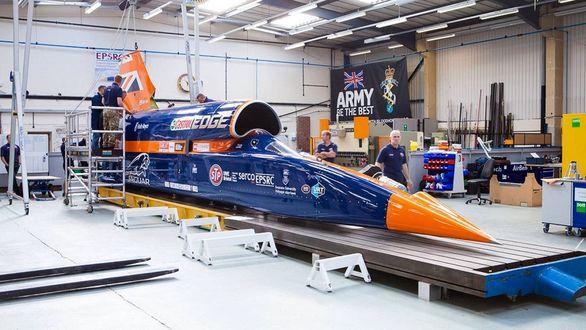 ساخت سریع ترین خودروی دنیا متوقف شد
