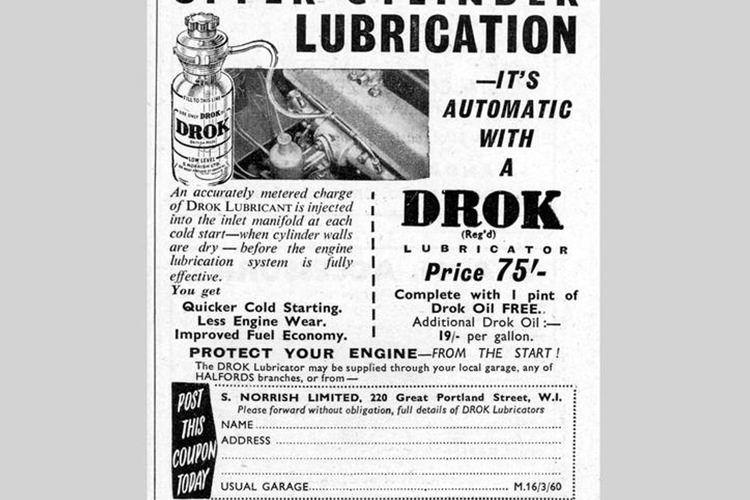 Drok lubricator