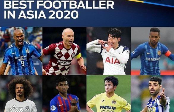 عکس   اسامی چهار پرسپولیسی نامزد بهترین بازیکن سال 2020