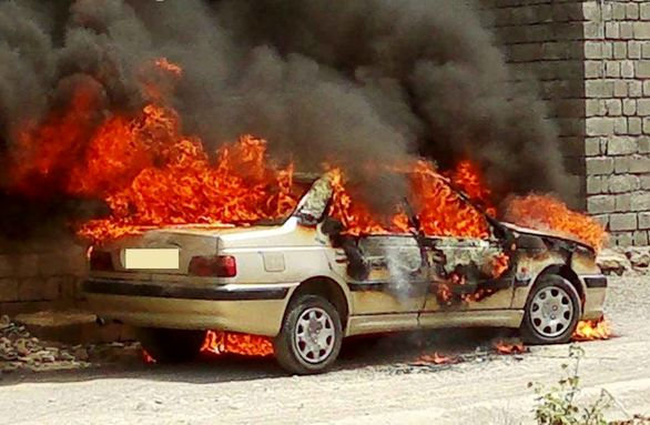 وقتی خودرو آتش گرفت چه کنیم؟