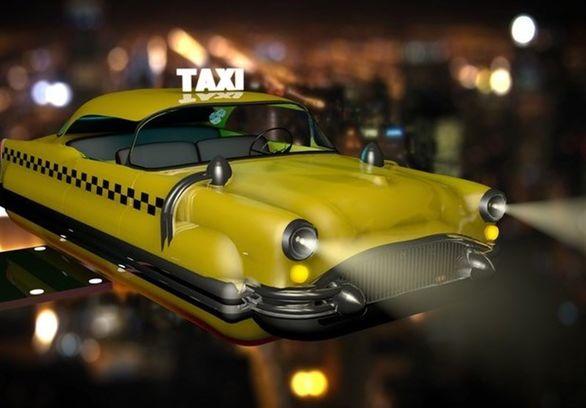 تاکسی های پرنده تا 3 سال دیگر می آیند