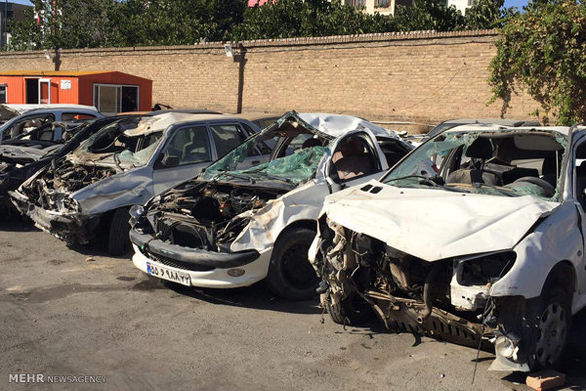 مدل خاص تصادفات رانندگی در تهران