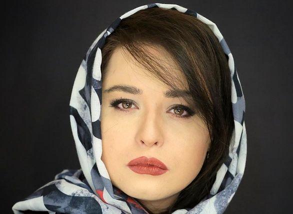 عکس   مهراوه شریفی نیا با موی پریشان و ماسک رها!