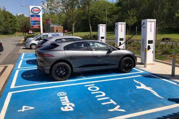 راه اندازی ایستگاه شارژ 20 دقیقه خودروهای برقی در انگلیس