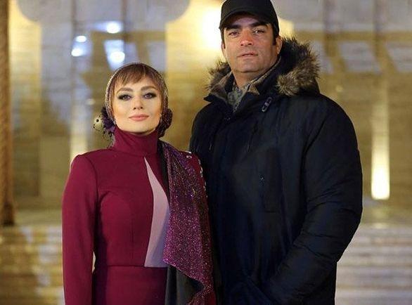 شکار یکتا ناصر و همسرش حین سلفی گرفتن / عکس