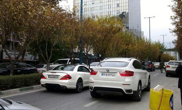 کاهش دور دور خودروها در تهران
