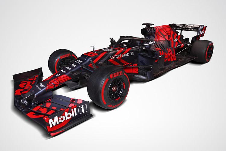 فرمول یک/ خودروی فصل 2019 تیم ردبول رونمایی شد