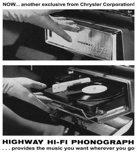 تاریخچه سیستم پخش خودرو