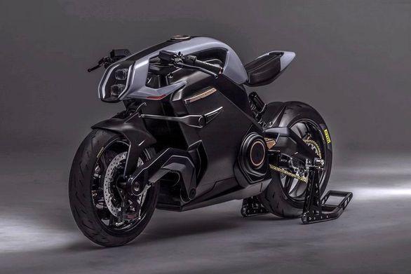 هیولای موتورسیکلت های برقی رونمایی شد
