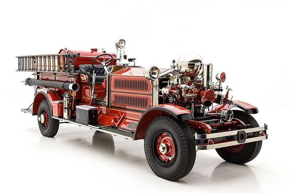 با اولین کامیون آتش نشانی دنیا آشنا شوید