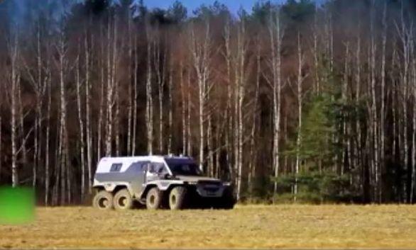 غول 8 چرخ روسی + ویدئو
