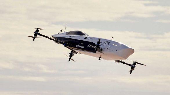 پرواز موفقیت آمیز تاکسی پرنده ایر اسپیدر