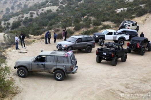 Off-Roading group