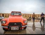 دورهمی خودروهای کلاسیک در اصفهان
