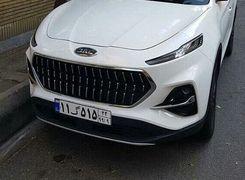 کی ام سی K7 خودرو کراس اوور جدید در راه بازار ایران + عکس