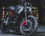 موتورسیکلت سفارشی ب ام و برای یک بازیکن معروف فوتبال (تصاویر)