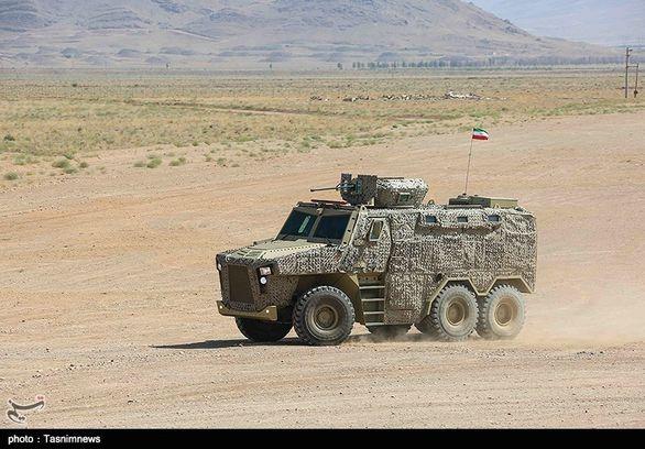 خودروهای جدید نیروهای مسلح رونمایی شد (عکس)