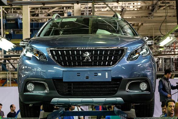آخرین وضعیت تولید پژو 2008 در ایران خودرو