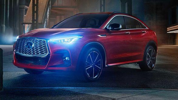 اینفینیتی QX55 مدل 2021 رونمایی شد