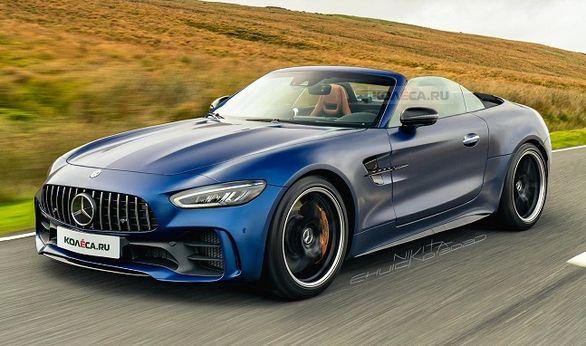 نسل جدید مرسدس بنز SL جایگزین AMG GT رودستر می شود