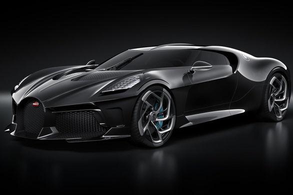 بوگاتی La Voiture Noire/ گران ترین خودروی صفر کیلومتر دنیا +تصاویر