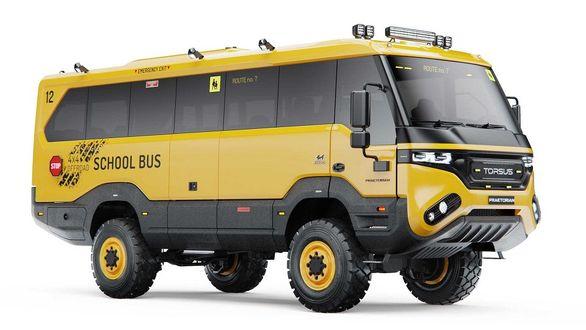تورسس | اتوبوس مدرسه آفرود