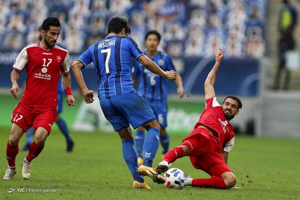 ۱۲ نکته از دیدار پرسپولیس و اولسان هیوندای کره در فینال لیگ قهرمانان آسیا
