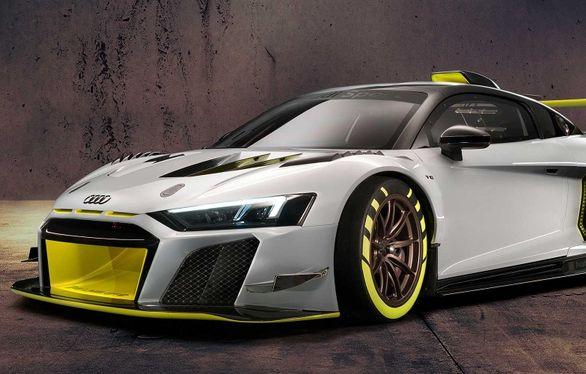 آئودی R8 مدل LMS GT2 فقط برای پیست