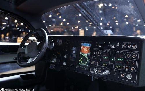 فضای کابین خودروی پرنده پال-وی