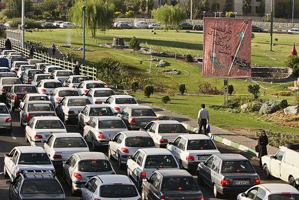 ممنوعیت تردد خودرو در برخی خیابانهای تهران امروز اول مهر
